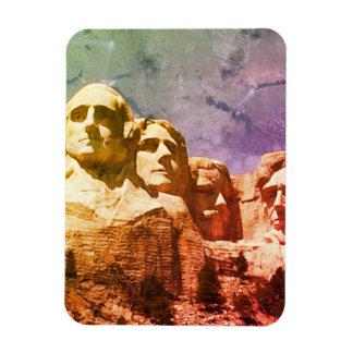 ラシュモア山の国有記念物1974年 マグネット