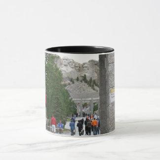 ラシュモア山の国民の記念物、サウスダコタのマグ マグカップ