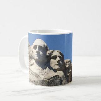 ラシュモア山の大統領のな国有記念物 コーヒーマグカップ