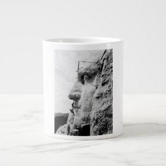 ラシュモア山の建築 ジャンボコーヒーマグカップ