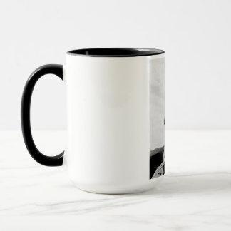 ラシュモア山の建築 マグカップ
