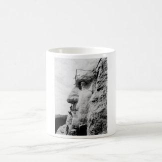ラシュモア山の建築 モーフィングマグカップ