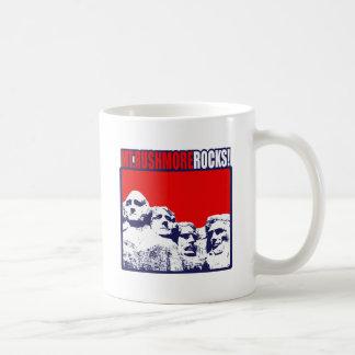 ラシュモア山の石! コーヒーマグカップ