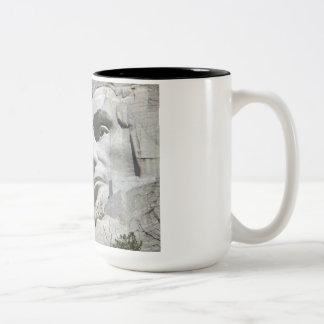 ラシュモア山の詳細 ツートーンマグカップ