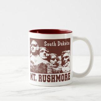 ラシュモア山 ツートーンマグカップ
