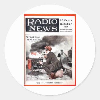 ラジオニュース1 ラウンドシール