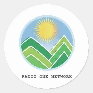 ラジオ1ネットワーク ラウンドシール