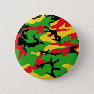 ラスタによって着色されるカムフラージュ 缶バッジ