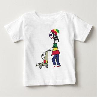 ラスタのお母さん ベビーTシャツ