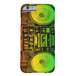 ラスタのゲットーの発破工 BARELY THERE iPhone 6 ケース
