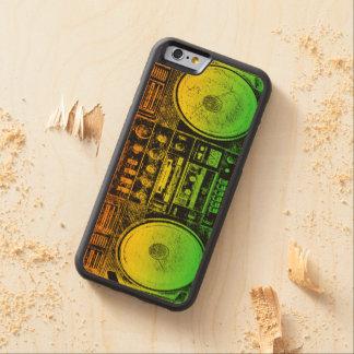 ラスタのゲットーの発破工 CarvedメープルiPhone 6バンパーケース
