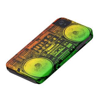 ラスタのゲットーの発破工 Case-Mate iPhone 4 ケース