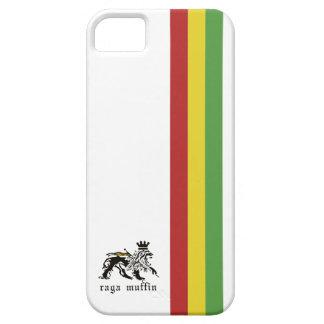 ラスタのストライプのIphone白い5の箱 iPhone SE/5/5s ケース