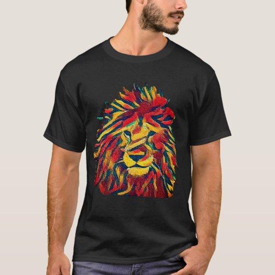 ラスタのライオン Tシャツ