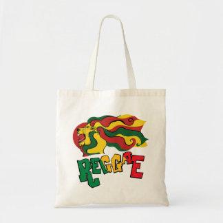 ラスタのレゲエのライオンの旗 トートバッグ
