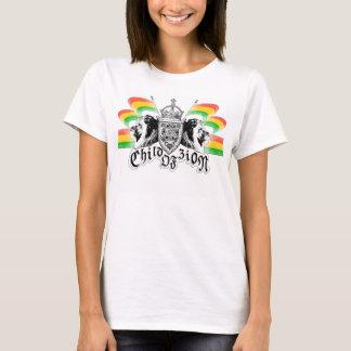ラスタのレゲエの王室のな頂上 Tシャツ
