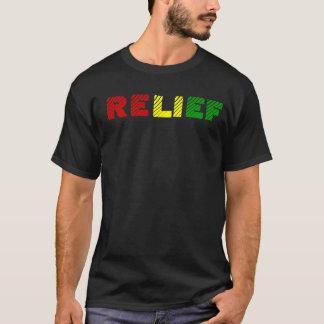 ラスタのレリーフ、浮き彫り Tシャツ