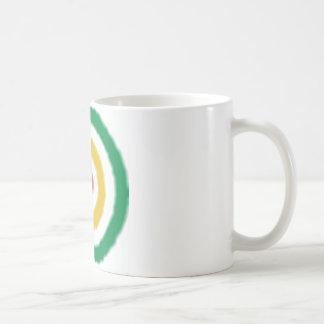 ラスタの中心点 コーヒーマグカップ