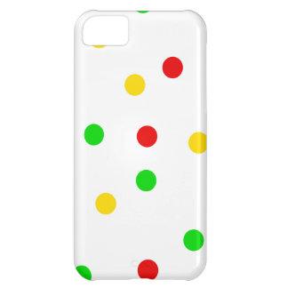 ラスタの水玉模様 iPhone5Cケース