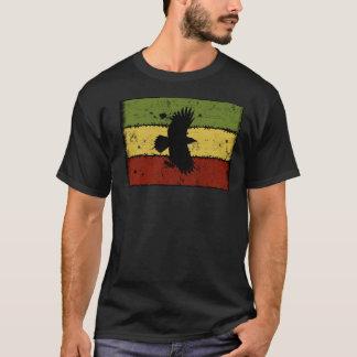 ラスタの《鳥》ハヤブサ Tシャツ