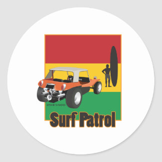 ラスタのSurfpatrolのジャマイカの乳母車 ラウンドシール