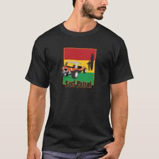 ラスタのSurfpatrolのジャマイカの乳母車 Tシャツ
