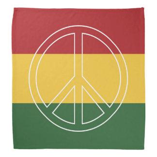 ラスタは平和を着色します バンダナ