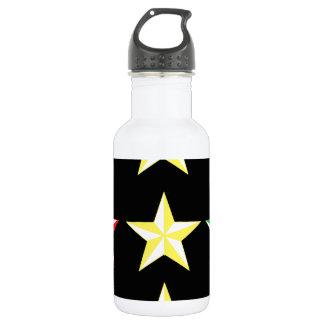 ラスタ及び黒い星 ウォーターボトル