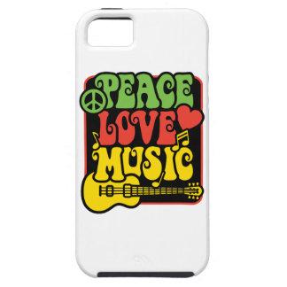 ラスタ平和愛音楽 iPhone 5 ケース