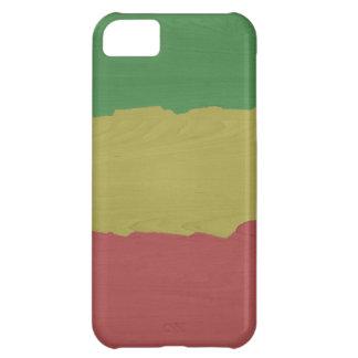 ラスタ木穀物 iPhone5Cケース