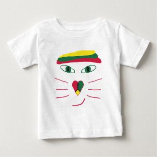 ラスタ猫 ベビーTシャツ