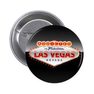 ラスベガスに熱中される、ネバダのおもしろいな印 5.7CM 丸型バッジ