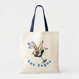 ラスベガスのカジノのショーガールの記念品 トートバッグ
