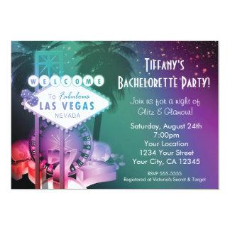 ラスベガスのカジノの賭博夜魅力の招待状 カード
