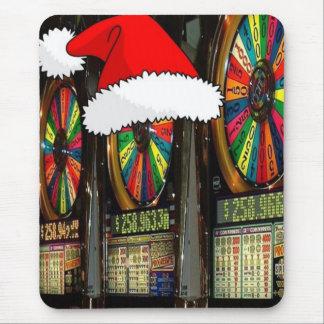 ラスベガスのクリスマススロット マウスパッド