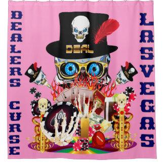 ラスベガスのシャワー・カーテンのコレクションのピンク シャワーカーテン