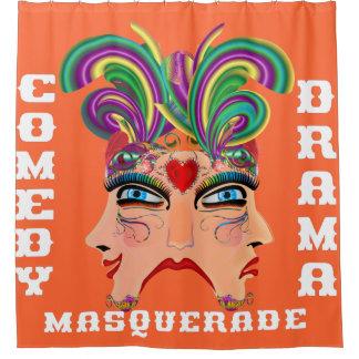 ラスベガスのシャワー・カーテンのコレクションの秋のオレンジ シャワーカーテン