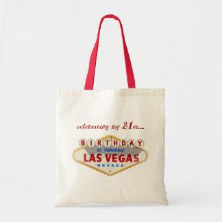 ラスベガスのトートバックの私の第21誕生日を祝うこと トートバッグ