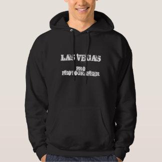 ラスベガスのプロカメラマンのフード付きのスエットシャツ パーカ