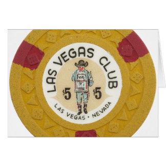 ラスベガスのポーカー用のチップのカジノはあなたの文字を加えます カード