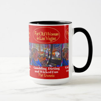 ラスベガスのマグのFATの老女 マグカップ
