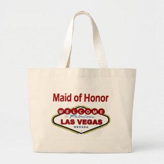 ラスベガスのメイド・オブ・オーナー(花嫁付き添い人)の新しい色の深紅のクラシック ラージトートバッグ
