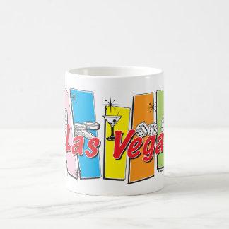 ラスベガスのレトロ コーヒーマグカップ