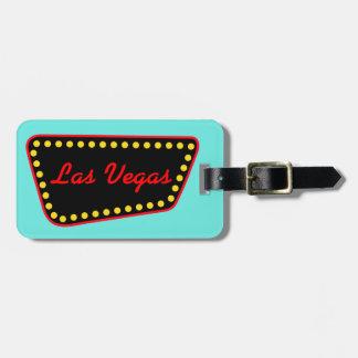 ラスベガスの休暇のスーツケースの新婚旅行の荷物のラベル ラゲッジタグ