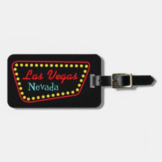 ラスベガスの休暇の新婚旅行の荷物のラベルのギフト ネームタグ