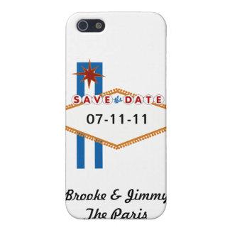 ラスベガスの保存日付 iPhone 5 COVER