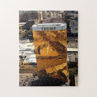 ラスベガスの切札タワーのパズル ジグソーパズル