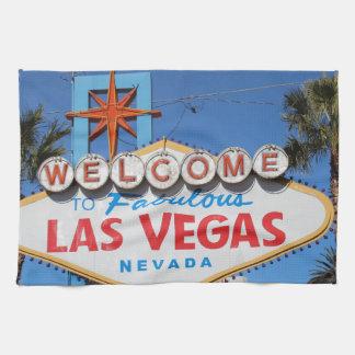 ラスベガスの印のネバダのカジノの賭博の陸標 キッチンタオル