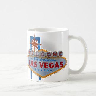 ラスベガスの印-マグへの歓迎 コーヒーマグカップ