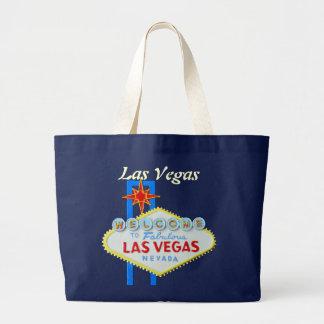 ラスベガスの喜ばしい徴候 ラージトートバッグ